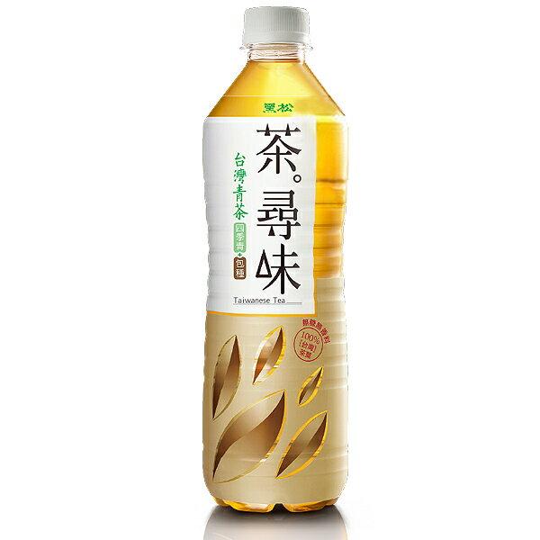 黑松 茶尋味 台灣青茶 590ml 1