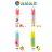 ORG《SD1190》手提設計~水果款 牙刷盒 洗漱收納盒 盥洗用品 收納盒 牙膏牙刷 收納 旅行 旅遊 出國 戶外用品 3