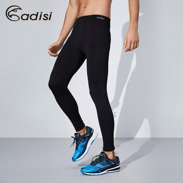 ADISI男智能纖維肌肉壓縮長褲AP1611145(S~XL)城市綠洲專賣(PP紗、速乾、保暖、輕量)