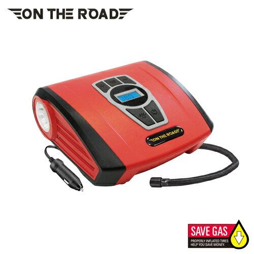 ON THE ROAD 火神數位顯示高速自動打氣機【愛買】