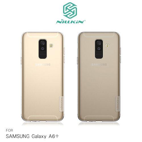 【東洋商行】SamsungGalaxyA6+(2018)NILLKIN本色系列TPU軟套果凍套透色套保護殼手機套清水套手機殼軟殼