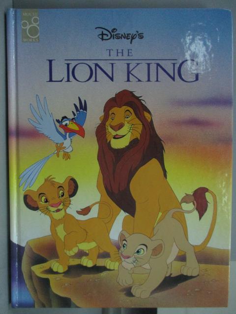 ~書寶 書T1/兒童文學_ZAX~The Lion King_Disney #x27 s迪