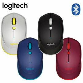 LOGITECH 羅技 M337 藍牙無線光學滑鼠 紅/藍/黑/灰 四色 適用於Android 平板 任何無線藍牙裝置