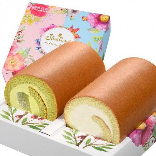 【亞尼克】亞尼克生乳雙捲禮盒(原味+抹茶厥餅) - 限時優惠好康折扣