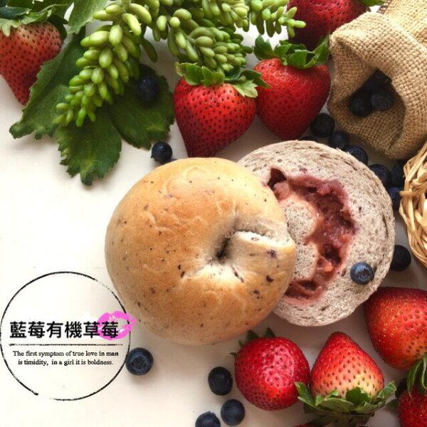 《MilkyCookie》藍莓有機草莓1入