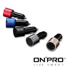 ONPRO GT-2P01 4.8A雙USB車用充電器 超急速充電 時尚鋁金屬外殼