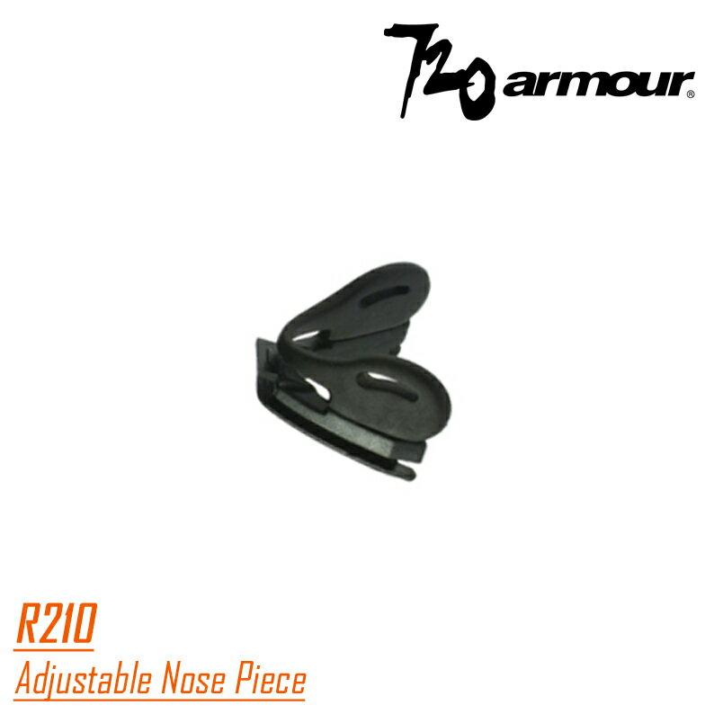【露營趣】720 armour R210 加高鼻墊 高鼻墊 適用 T337 Rider /  T614 Freedy 系列眼鏡專用鼻墊
