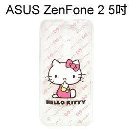 利奇通訊 Hello Kitty 透明軟殼 [粉] ASUS ZenFone 2 ZE500CL Z00D (5吋)【三麗鷗正版授權】
