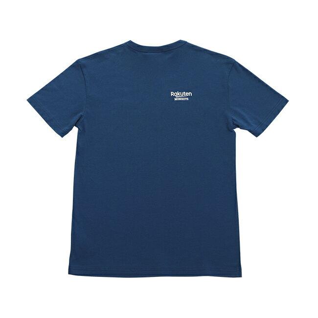 MONKEYS客家短T-藍 1