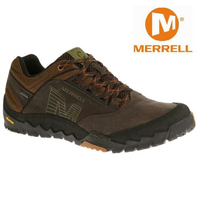 Merrell 低筒健行鞋/防水透氣越野鞋/戶外運動鞋 ANNEX GORE-TEXR 男款 深褐色 ML21177