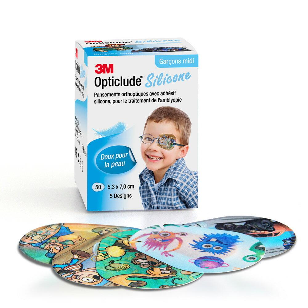 3M 矽膠護眼貼設計款(男孩/中尺寸)3M-7100223361★3M FUN4購物節 ★299起免運