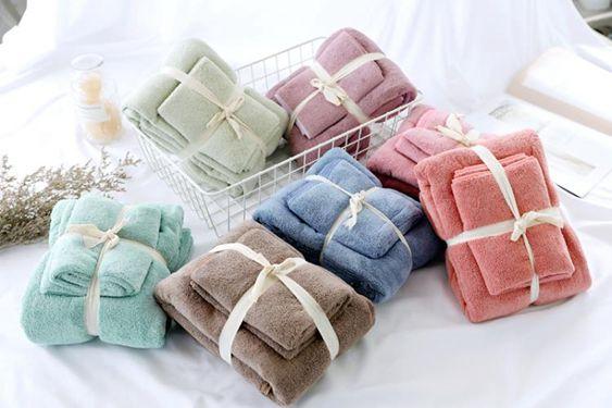 浴巾珊瑚絨強力吸水浴巾毛巾柔軟無比干發巾