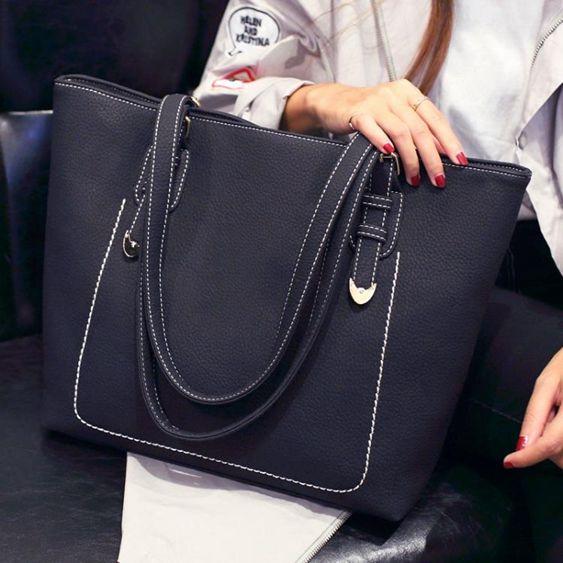 托特包托特包女包春夏新款韓版手提包斜背女大包包大容量簡約百搭潮
