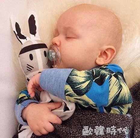 嬰幼兒可入口安撫巾0-1歲寶寶安撫玩具多功能陪睡毛絨玩具玩偶