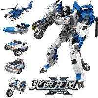 變形金剛兒童玩具推薦到合金變形玩具金剛飛機汽車合體機器人模型兒童男孩摩托警車組合就在七號小鋪推薦變形金剛兒童玩具