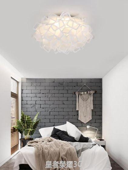壓克力個性創意臥室吸頂燈溫馨浪漫北歐客廳燈具現代簡約LED燈飾