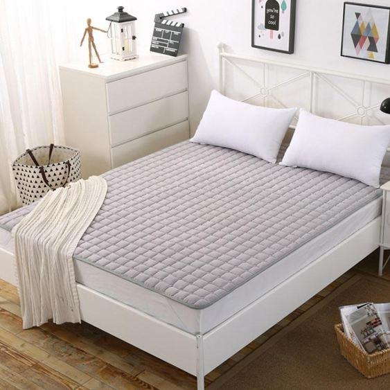 可機洗薄床墊賓館席夢思保護墊1.5米床褥子雙人1.8m床護墊1.2防滑