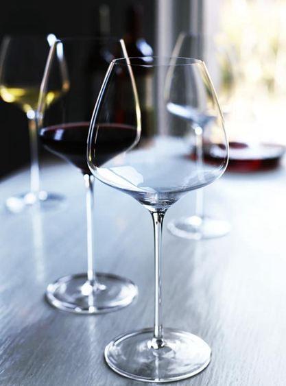 水晶勃艮第紅酒杯葡萄酒高腳杯子家用大號