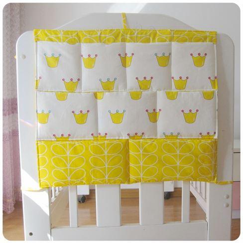北歐新品床床頭掛袋置物收納袋尿布小件床邊多功能儲物