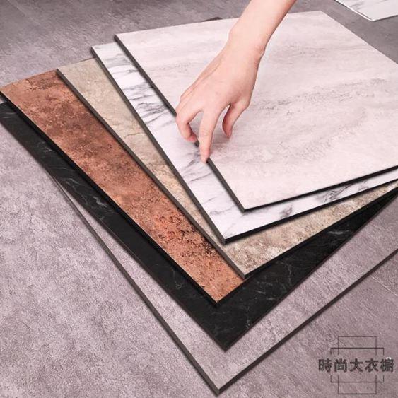 自粘石塑PVC地板革加厚耐磨防水塑膠地板貼紙