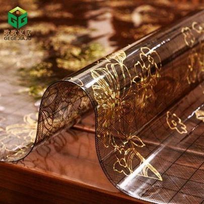 桌墊軟玻璃餐桌墊茶幾隔熱墊塑料膠墊pvc水晶板桌布防水防燙防油免洗