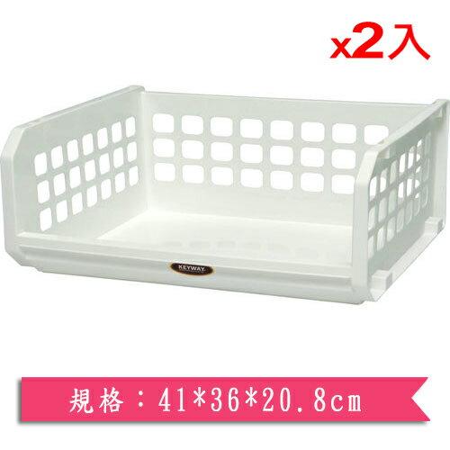 ★2件超值組★KEYWAY開放式整理架(XL)P5-0085【愛買】