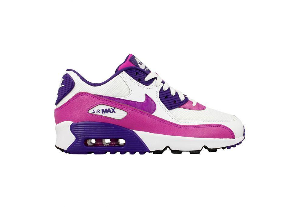 [ALPHA] NIKE AIR MAX 90 MESH 833340-105 跑鞋 大童鞋 氣墊鞋