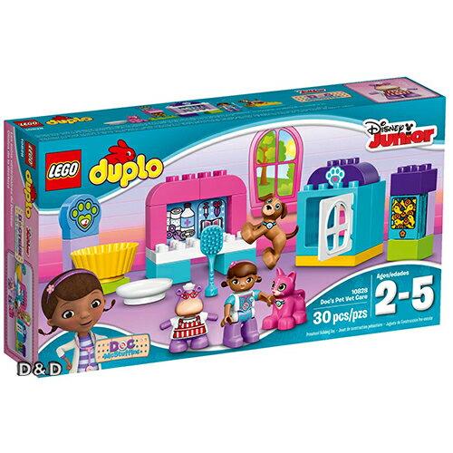 樂高積木LEGO《 LT10828 》Duplo 得寶幼兒系列 - 玩具小醫生的寵物診所