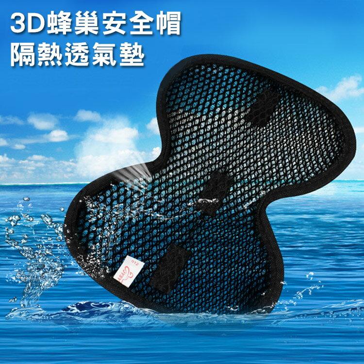 3D蜂巢安全帽隔熱透氣墊 BUJ3697