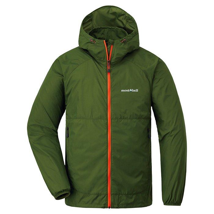 【mont-bell 日本】WindBlast 連帽風衣外套 運動外套 男款 橄綠色 (1103242)