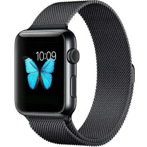 【美國代購】Apple Watch Band, Penom 全磁扣式不銹鋼 Bracelet Strap, 42mm-Black
