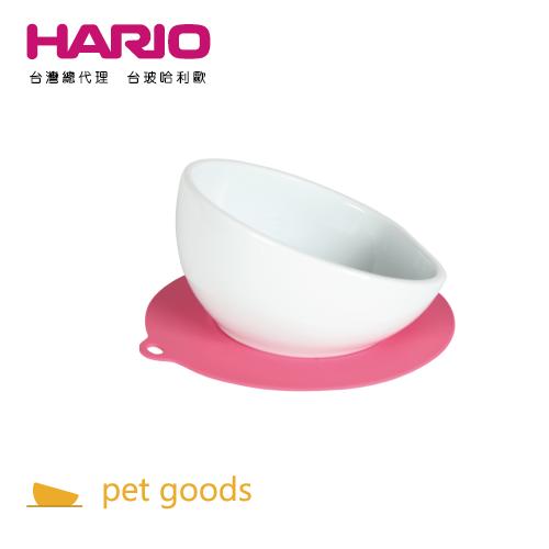 HARIO:【HARIO寵物】中型犬專用櫻桃粉紅磁碗PTS-MA-PC