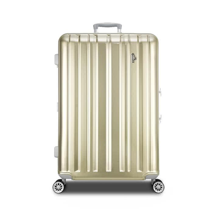 【Arowana 亞諾納】經典拜金29吋PC鏡面鋁框旅行箱/行李箱【Z200309】