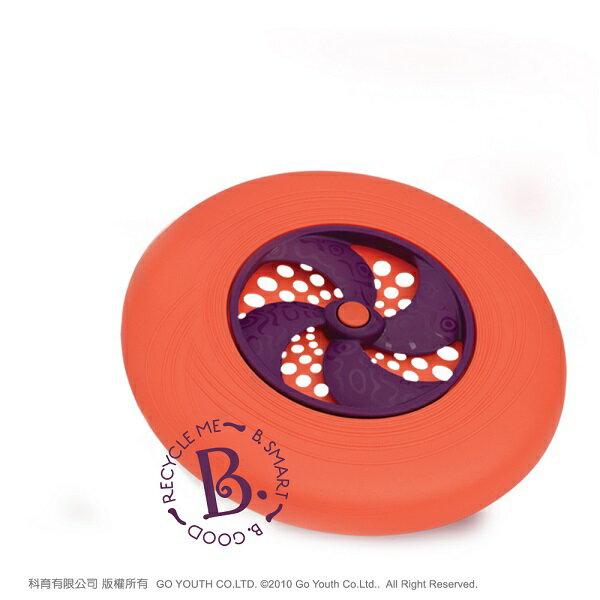 【淘氣寶寶】飛盤迪斯可 橘【檢驗符合 安全  沒有外部塗料, 無毒】
