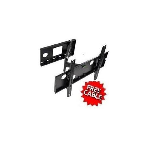 mount it rakuten mount it apsamb 37 60 lcd tv wall mount bracket with full motion swing out. Black Bedroom Furniture Sets. Home Design Ideas
