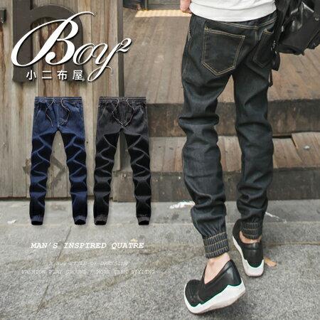 ~BOY~2~~PPK85020~ 潮流內鋪棉厚刷毛重磅牛仔褲