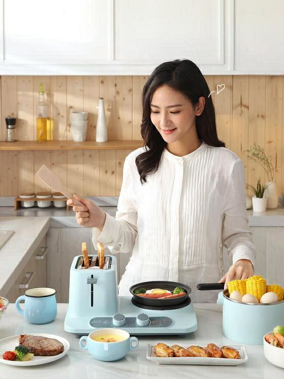 早餐機多功能小型四合一體三明治機家用烤面包機全自動多士爐