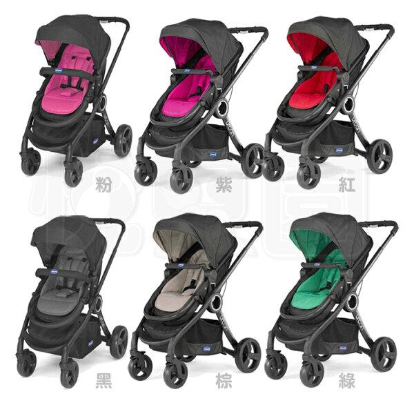 【贈手提汽座+顏色組合包】ChiccoUrbanPlus個性化雙向手推車(6色)【悅兒園婦幼生活館】