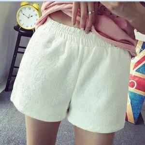 美麗大街~IR3313~大碼女裝甜美寬鬆蕾絲短褲女褲 ~  好康折扣