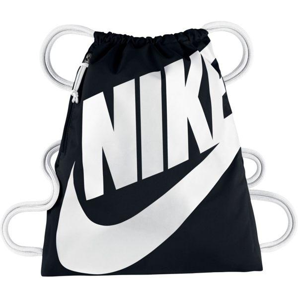 Nike NK HERITAGE GMSK 背包 束口袋 鞋袋 黑 白 【運動世界】BA5351-011