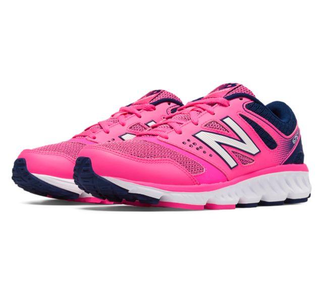 NEW BALANCE 慢跑鞋 D楦 女鞋 W675PN 桃[陽光樂活]