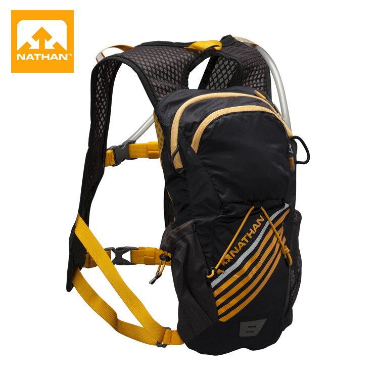【NATHAN】二鐵專用水袋背包5033NB (黑色) / 城市綠洲 (跑步、單車、鐵人、運動)