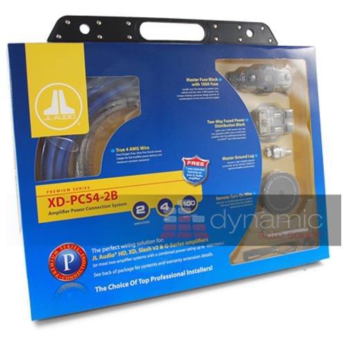JL AUDIO XD-PCS4-2B Car Sub Amplifier 700W Speaker 2 Amp Install Kit 4 AWG 57f598dd5827796bc5069e468abcd115