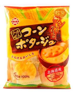 松貝進口食品專賣店:《松貝》本田北海道玉米濃湯餅90g【4902456314006】aa35