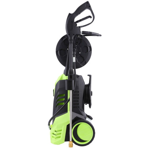 1800W 2200PSI 1.8GPM Electric High Pressure Cleaner Reel Style Cleaning Machine thumbnail