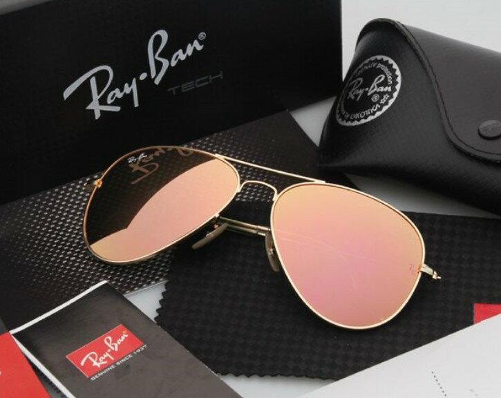 Ray Ban 雷朋 水銀鍍膜 霧金 太陽眼鏡 RB3025 0