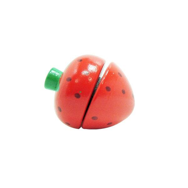 Muledy 木樂地 - 草莓●木製玩具●搭配Hape主廚系列●愛傑卡