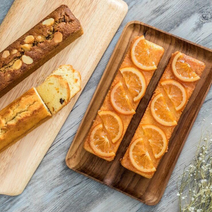 香橙磅蛋糕禮盒 ( 300g / 條) 真材實料 精緻而典雅,輕鬆小點 | 呈現最自然原味的甜點, 純手工製作就在【MINI SNOW香草屋】