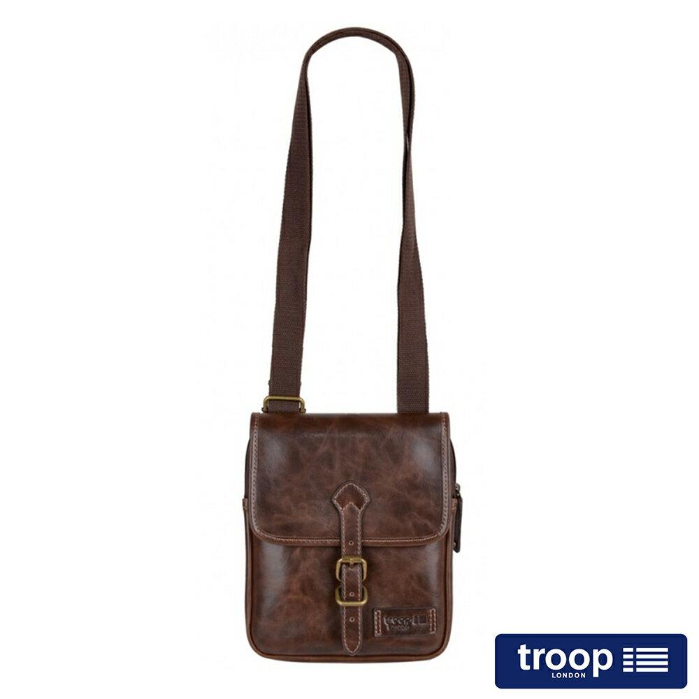 ~TROOP~ 新風格FAUX LEATHER斜背包  TLL010DB