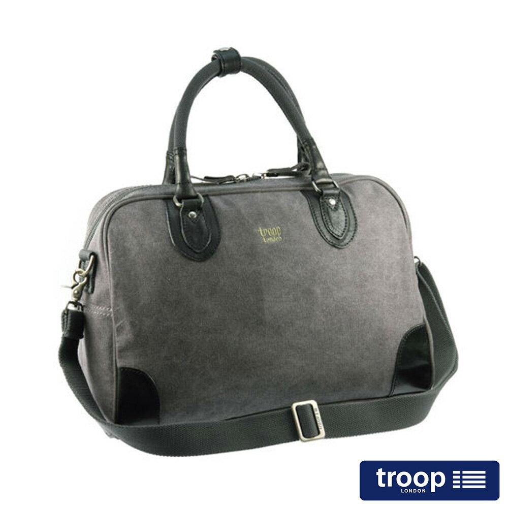 【TROOP】經典品格CLASSIC手提斜背包/TRP0262BK